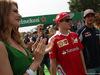 GP ITALIA, 04.09.2016 - Kimi Raikkonen (FIN) Ferrari SF16-H e Carlos Sainz Jr (ESP) Scuderia Toro Rosso STR11 at drivers parade
