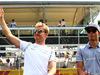 GP ITALIA, 04.09.2016 - Nico Rosberg (GER) Mercedes AMG F1 W07 Hybrid e Pascal Wehrlein (GER) Manor Racing MRT05