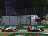 GP ITALIA, 04.09.2016 - Gara, Start of the race, Nico Rosberg (GER) Mercedes AMG F1 W07 Hybrid e  Sebastian Vettel (GER) Ferrari SF16-H