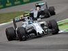 GP ITALIA, 04.09.2016 - Gara, Valtteri Bottas (FIN) Williams FW38 davanti a Lewis Hamilton (GBR) Mercedes AMG F1 W07 Hybrid
