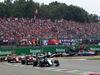 GP ITALIA, 04.09.2016 - Gara, Start of the race, Nico Rosberg (GER) Mercedes AMG F1 W07 Hybrid davanti a Sebastian Vettel (GER) Ferrari SF16-H