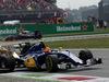 GP ITALIA, 04.09.2016 - Gara, Crash, Jolyon Palmer (GBR) Renault Sport F1 Team RS16, Felipe Nasr (BRA) Sauber C34 e Kevin Magnussen (DEN) Renault Sport F1 Team RS16