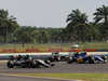 GP MALESIA, 02.10.2016 - Gara, Nico Hulkenberg (GER) Sahara Force India F1 VJM09 e Felipe Nasr (BRA) Sauber C34