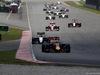 GP MALESIA, 02.10.2016 - Gara, Daniel Ricciardo (AUS) Red Bull Racing RB12 davanti a Sergio Perez (MEX) Sahara Force India F1 VJM09