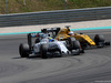 GP MALESIA, 02.10.2016 - Gara, Felipe Massa (BRA) Williams FW38 e Kevin Magnussen (DEN) Renault Sport F1 Team RS16