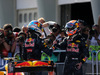 GP MALESIA, 02.10.2016 - Gara, Daniel Ricciardo (AUS) Red Bull Racing RB12 vincitore e secondo Max Verstappen (NED) Red Bull Racing RB12