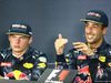 GP MALESIA, 02.10.2016 - Gara, Conferenza Stampa, Max Verstappen (NED) Red Bull Racing RB12 e Daniel Ricciardo (AUS) Red Bull Racing RB12