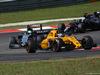 GP MALESIA, 02.10.2016 - Gara, Jolyon Palmer (GBR) Renault Sport F1 Team RS16 davanti a Nico Hulkenberg (GER) Sahara Force India F1 VJM09