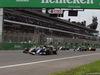 GP MESSICO, 30.10.2016 - Gara, Esteban Gutierrez (MEX) Haas F1 Team VF-16 e Marcus Ericsson (SUE) Sauber C34