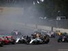 GP MESSICO, 30.10.2016 - Gara, Start of the race, Valtteri Bottas (FIN) Williams FW38 e Felipe Massa (BRA) Williams FW38