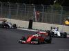 GP MESSICO, 30.10.2016 - Gara, Sebastian Vettel (GER) Ferrari SF16-H davanti a Valtteri Bottas (FIN) Williams FW38