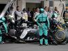 GP MESSICO, 30.10.2016 - Gara, Pit stop, Nico Rosberg (GER) Mercedes AMG F1 W07 Hybrid