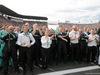 GP MESSICO, 30.10.2016 - Gara, Mercedes Team celebrate Lewis Hamilton (GBR) Mercedes AMG F1 W07 Hybrid vincitore e 2à Nico Rosberg (GER) Mercedes AMG F1 W07 Hybrid