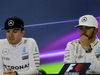GP MESSICO, 30.10.2016 - Gara, Conferenza Stampa, Nico Rosberg (GER) Mercedes AMG F1 W07 Hybrid e Lewis Hamilton (GBR) Mercedes AMG F1 W07 Hybrid