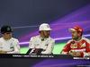 GP MESSICO, 30.10.2016 - Gara, Conferenza Stampa, Nico Rosberg (GER) Mercedes AMG F1 W07 Hybrid, Lewis Hamilton (GBR) Mercedes AMG F1 W07 Hybrid e Sebastian Vettel (GER) Ferrari SF16-H