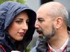GP MONACO, 29.05.2016 - Giorgia Cardinaletti (ITA), RAI TV e Ivan Capelli (ITA) ACI Milano, President