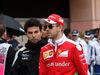 GP MONACO, 29.05.2016 - Sergio Perez (MEX) Sahara Force India F1 VJM09 e Sebastian Vettel (GER) Ferrari SF16-H