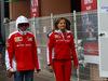 GP MONACO, 29.05.2016 - Kimi Raikkonen (FIN) Ferrari SF16-H e Stefania Boccoli (ITA) Ferrari PR Officer