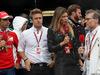 GP MONACO, 29.05.2016 - Gara, Marc Gene (ESP), Test Driver Ferrari, Davide Valsecchi (ITA), Sky TV, Federica Masolin, Sky e Jean-Eric Vergne (FRA) Ferrari reserve driver
