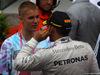GP MONACO, 29.05.2016 - Gara, Lewis Hamilton (GBR) Mercedes AMG F1 W07 Hybrid vincitore e Justin Bieber