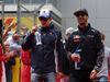 GP RUSSIA, 01.05.2016 - Marcus Ericsson (SUE) Sauber C34 e Daniel Ricciardo (AUS) Red Bull Racing RB12