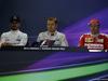 GP RUSSIA, 01.05.2016 - Gara, Conferenza Stampa, Lewis Hamilton (GBR) Mercedes AMG F1 W07 Hybrid, Nico Rosberg (GER) Mercedes AMG F1 W07 Hybrid e Kimi Raikkonen (FIN) Ferrari SF16-H
