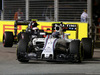 GP SINGAPORE, 18.09.2016 - Gara, Valtteri Bottas (FIN) Williams FW38 davanti a Jenson Button (GBR)  McLaren Honda MP4-31