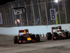 GP SINGAPORE, 18.09.2016 - Gara, Max Verstappen (NED) Red Bull Racing RB12 e Esteban Gutierrez (MEX) Haas F1 Team VF-16