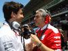 GP SPAGNA, 15.05.2016- Gara, Toto Wolff (GER) Mercedes AMG F1 Shareholder e Executive Director e Maurizio Arrivabene (ITA) Ferrari Team Principal