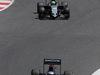 GP SPAGNA, 15.05.2016- Gara 2, Fernando Alonso (ESP) McLaren Honda MP4-31 e Nico Hulkenberg (GER) Sahara Force India F1 VJM09