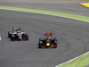 GP SPAGNA, 15.05.2016- Gara 2, Romain Grosjean (FRA) Haas F1 Team VF-16 e Max Verstappen (NED) Red Bull Racing RB12