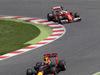 GP SPAGNA, 15.05.2016- Gara 2, Max Verstappen (NED) Red Bull Racing RB12 e Sebastian Vettel (GER) Ferrari SF16-H