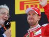 GP SPAGNA, 15.05.2016- Gara 2, Placido Domingos (ESP) e terzo Sebastian Vettel (GER) Ferrari SF16-H