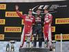 GP SPAGNA, 15.05.2016- Gara 2, 1st position Max Verstappen (NED) Red Bull Racing RB12, secondo Kimi Raikkonen (FIN) Ferrari SF16-H e terzo Sebastian Vettel (GER) Ferrari SF16-H