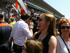 GP SPAGNA, 15.05.2016- Gara 2, The wife of Christian Horner (GBR), Red Bull Racing, Sporting Director