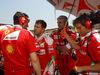 GP UNGHERIA, 24.07.2016 - Gara, Sebastian Vettel (GER) Ferrari SF16-H e Maurizio Arrivabene (ITA) Ferrari Team Principal
