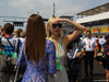 GP UNGHERIA, 24.07.2016 - Gara, The girlfriend of Lewis Hamilton (GBR) Mercedes AMG F1 W07 Hybrid