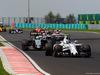 GP UNGHERIA, 24.07.2016 - Gara, Valtteri Bottas (FIN) Williams FW38 davanti a Nico Hulkenberg (GER) Sahara Force India F1 VJM09