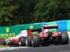 GP UNGHERIA, 24.07.2016 - Gara, Romain Grosjean (FRA) Haas F1 Team VF-16 davanti a Kimi Raikkonen (FIN) Ferrari SF16-H