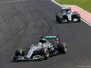 GP UNGHERIA, 24.07.2016 - Gara, Lewis Hamilton (GBR) Mercedes AMG F1 W07 Hybrid davanti a Nico Rosberg (GER) Mercedes AMG F1 W07 Hybrid