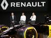 RENAULT F1 PRESENTAZIONE 2016, (L to R): Jerome Stoll (FRA) Renault Sport F1 President with Cyril Abiteboul (FRA) Renault Sport F1 Managing Director e Frederic Vasseur (FRA) Renault Sport Formula One Team Racing Director. 03.02.2016.