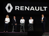 RENAULT F1 PRESENTAZIONE 2016, (L to R): Jerome Stoll (FRA) Renault Sport F1 President with Cyril Abiteboul (FRA) Renault Sport F1 Managing Director; Frederic Vasseur (FRA) Renault Sport Formula One Team Racing Director; e Carlos Ghosn (FRA) Chairman of Renault. 03.02.2016.