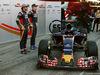 TEST F1 BARCELLONA 1 MARZO, (L to R): Carlos Sainz Jr (ESP) Scuderia Toro Rosso e Max Verstappen (NLD) Scuderia Toro Rosso with the Scuderia Toro Rosso STR11. 01.03.2016.