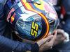 TEST F1 BARCELLONA 1 MARZO, The helmet of Carlos Sainz Jr (ESP) Scuderia Toro Rosso. 01.03.2016.