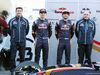 TEST F1 BARCELLONA 1 MARZO, (L to R): James Key (GBR) Scuderia Toro Rosso Technical Director with Max Verstappen (NLD) Scuderia Toro Rosso; Carlos Sainz Jr (ESP) Scuderia Toro Rosso; e Franz Tost (AUT) Scuderia Toro Rosso Team Principal. 01.03.2016.