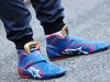TEST F1 BARCELLONA 1 MARZO, The Alpinestars racing boots of Max Verstappen (NLD) Scuderia Toro Rosso. 01.03.2016.