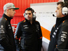 TEST F1 BARCELLONA 1 MARZO, Nico Hulkenberg (GER) Sahara Force India F1 e Bradley Joyce (GBR) Sahara Force India F1 Gara Engineer (Right). 01.03.2016.