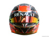 TEST F1 BARCELLONA 1 MARZO, The helmet of Esteban Ocon (FRA) Renault Sport F1 Team Test Driver. 01.03.2016.