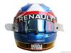 TEST F1 BARCELLONA 1 MARZO, The helmet of Jolyon Palmer (GBR) Renault Sport F1 Team. 01.03.2016.