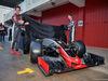 TEST F1 BARCELLONA 22 FEBBRAIO, (L to R): Esteban Gutierrez (MEX) Haas F1 Team e Romain Grosjean (FRA) Haas F1 Team unveil the Haas VF-16. 22.02.2016.